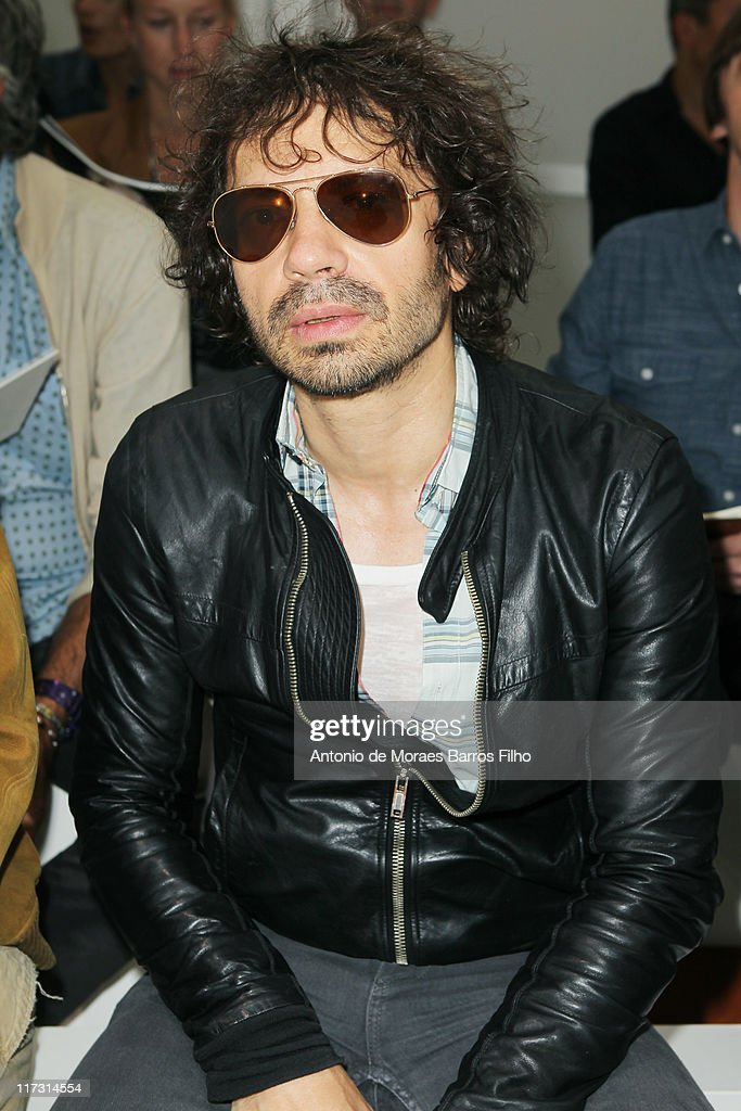 Olivier Zahm attends the Dior Homme Menswear Spring/Summer 2012 show as part of Paris Fashion Week at on June 25, 2011 in Paris, France.