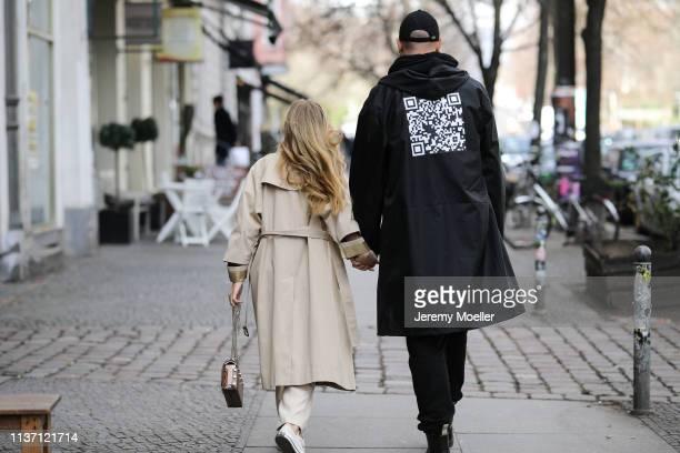 Olja Ryzevski wearing Tshirt acne studios Pants massimo dutti Coat Sandro Paris Bag Sunglasses Jimmy Choo Shoes converse and Mauricio Corridan...