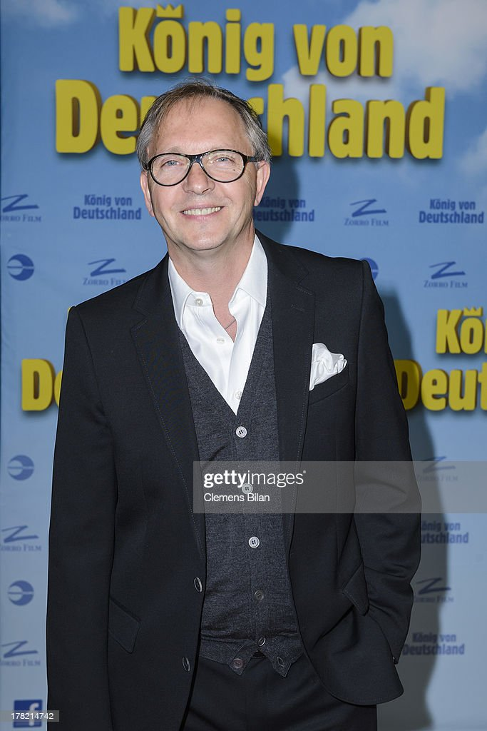 Olli Dittrich attends the 'Koenig von Deutschland' Berlin premiere at Kino International on August 27, 2013 in Berlin, Germany.