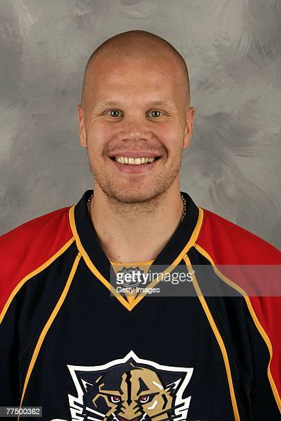 Olli Jokinen of the Florida Panthers poses for his 2007 NHL headshot at photo day in Sunrise Florida
