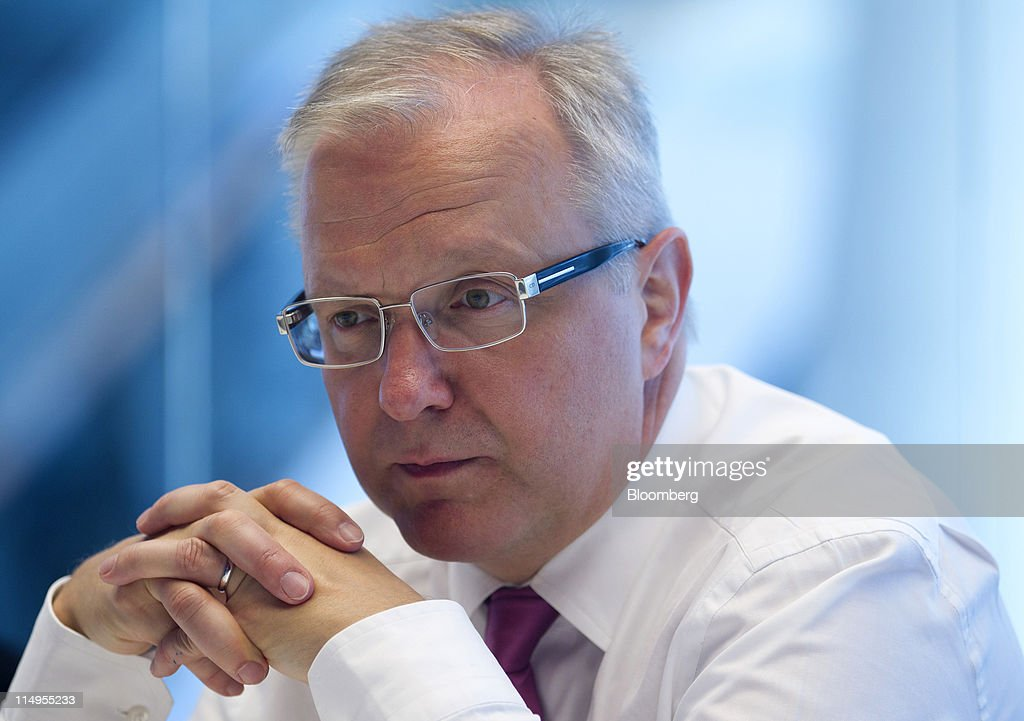 EU Economic Commissioner Olli Rehn Interview