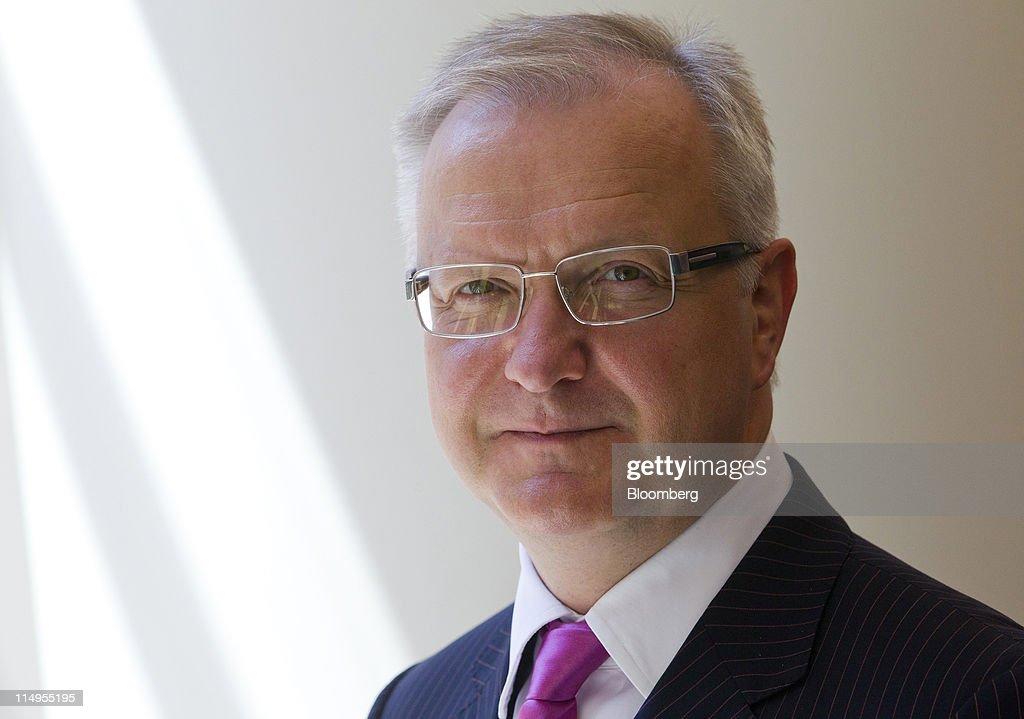 EU Economic Commissioner Olli Rehn Interview