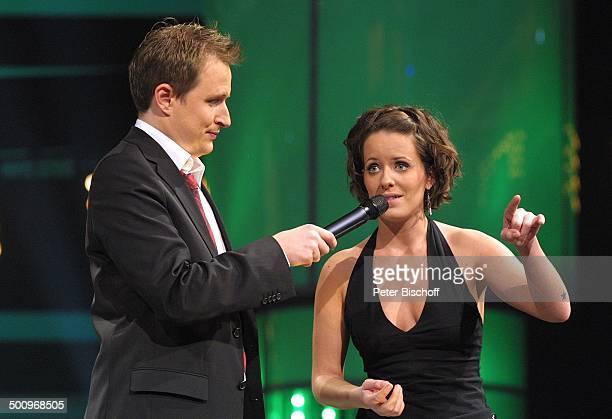 Ollie Briesch Sarah Kuttner Preisverleihung 'Eins Live Krone' Arena Oberhausen Oberhausen Radiosender 'Eins Live' Ehrung Preis Moderator Moderatorin...