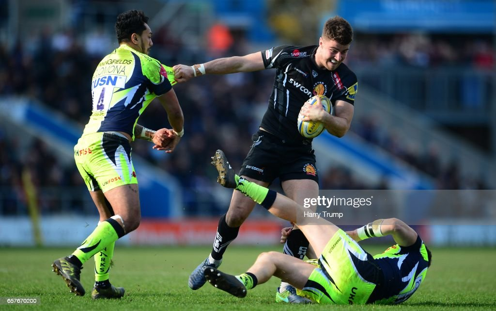 Exeter Chiefs v Sale Sharks - Aviva Premiership