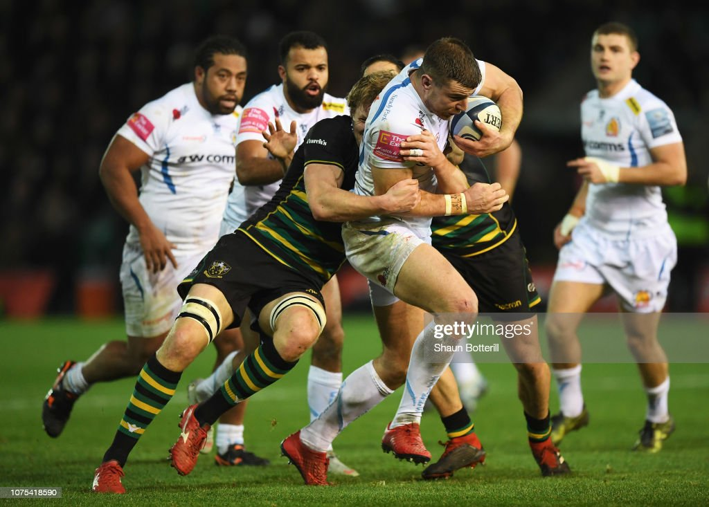Northampton Saints v Exeter Chiefs - Gallagher Premiership Rugby : News Photo