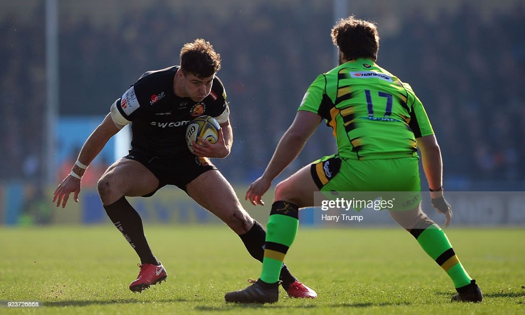 Exeter Chiefs v Northampton Saints - Aviva Premiership