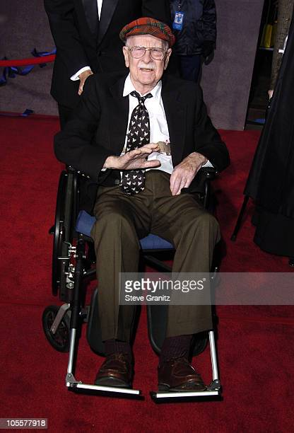 Ollie Johnston Disney animator during 'Mary Poppins' 40th Anniversary and Launch of Special Edition DVD Arrivals at El Capitan Theatre in Hollywood...
