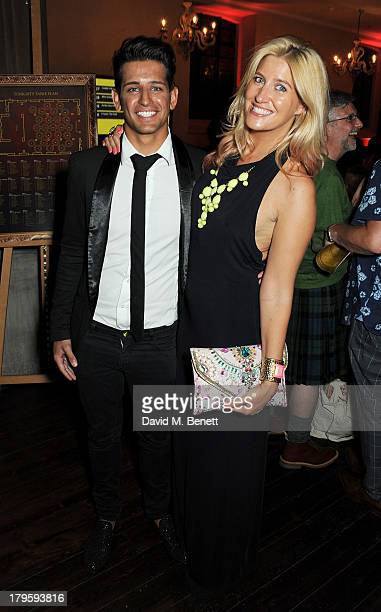 Ollie Locke and Francesca Hull attend the Queen AIDS Benefit in support of The Mercury Phoenix Trust at One Mayfair on September 5 2013 in London...