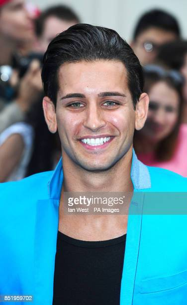 Ollie Locke arriving at the European film premiere of We're The Millers at the Odeon West End Leicester Square London PRESS ASSOCIATION Photo Picture...