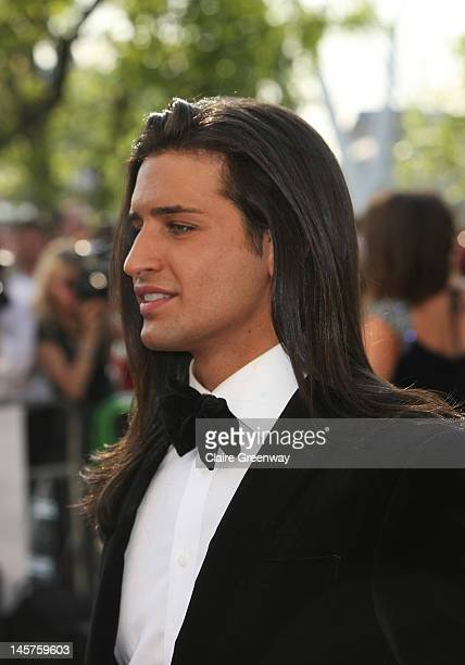Ollie Locke attends The Arqiva British Academy Television Awards 2012 at The Royal Festival Hall on May 27 2012 in London England