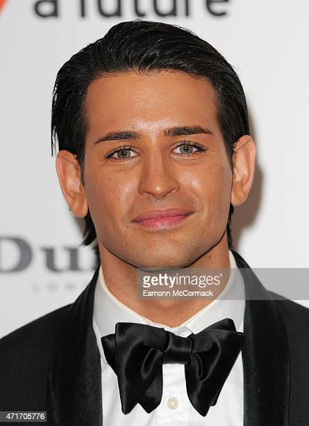Ollie Locke attends The Downton Abbey Ball at The Savoy Hotel on April 30 2015 in London England
