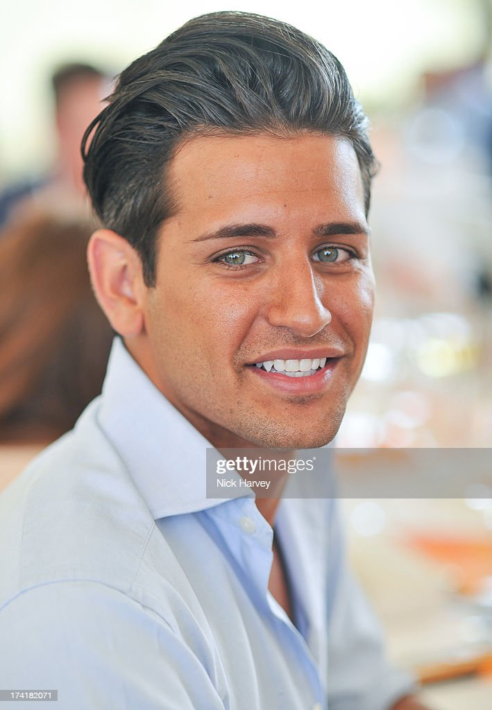 Ollie Locke attends the Veuve Clicquot Gold Cup final at Cowdray Park Polo Club on July 21, 2013 in Midhurst, England.