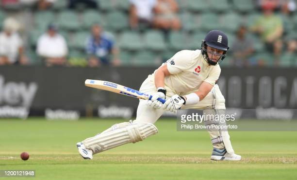 Ollie Pope of England bats during Day Two of the Third Test between England and South Africa on January 17, 2020 in Port Elizabeth, South Africa.