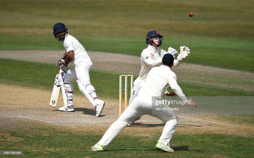 England Lions v India A - Day Four