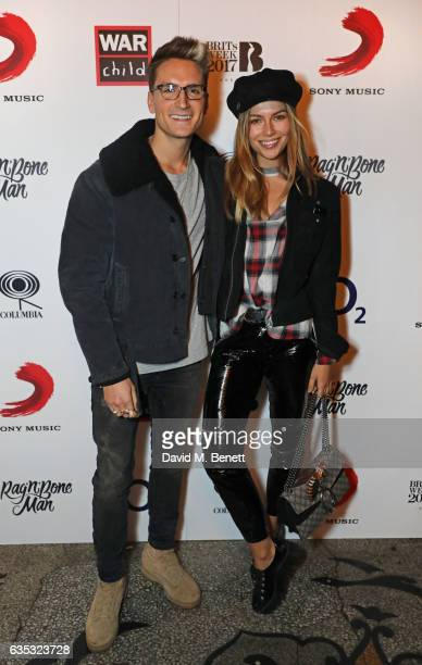 Ollie Proudlock and Emma Connolly attend the Rag'n'Bone Man show as part of War Child BRITs Week together with O2 to support children affected by war...