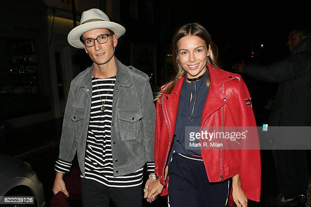 Ollie Proudlock attending the 5 Years of Gazelli party on November 10 2016 in London England