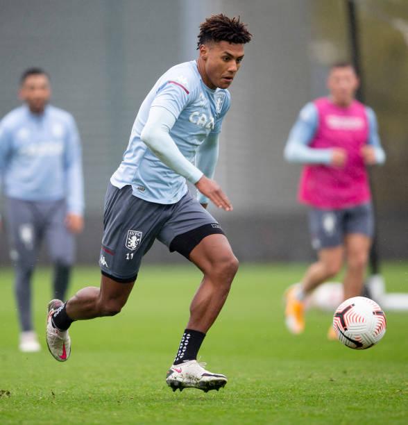 GBR: Aston Villa Training Session