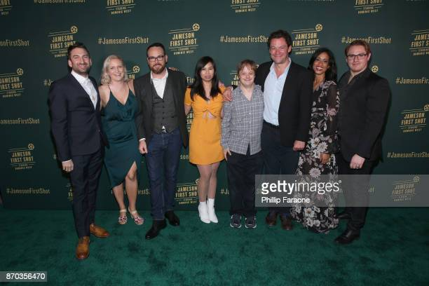 Ollie Wolf Alice Cogin producer Dana Brunetti actor Camille Mana actor Luke Zimmerman actor Dominic West actor Amy Argyle and Jason Manella at...
