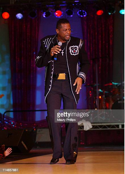 Ollie Woodson during Ollie Woodson Perform Live at The 2005 Los Angeles Black Expo and Trade Show at Los Angeles Convention Center in Los Angeles,...