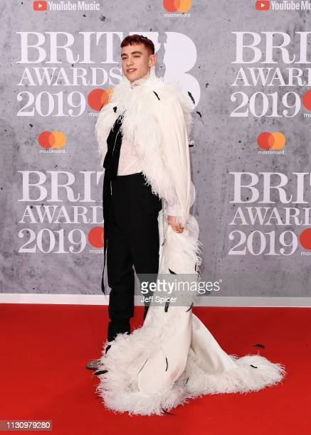 Olly Alexander attends The BRIT Awards 2019 held at The O2 Arena on February 20 2019 in London England