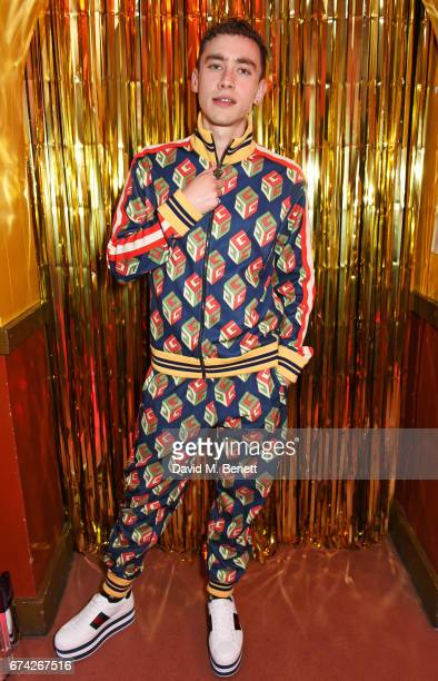 Olly Alexander attends the Gucci and iD party celebrating the Gucci PreFall 2017 campaign at the Mildmay Club in Stoke Newington on April 27 2017 in...