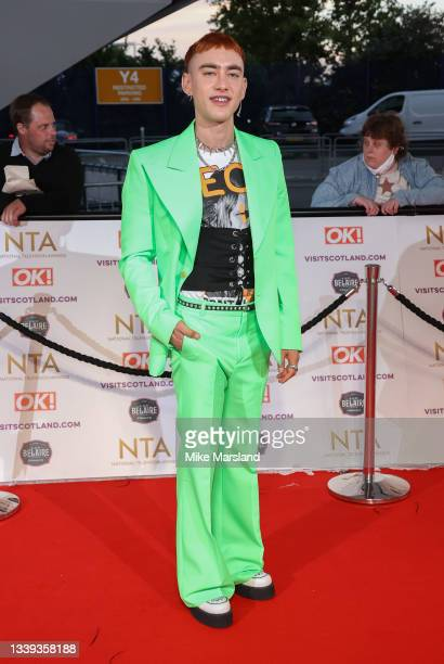 Olly Alexander attends the National Television Awards 2021 at The O2 Arena on September 09, 2021 in London, England.