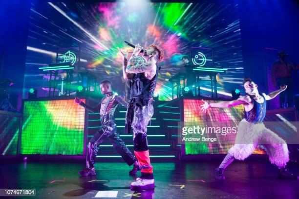 Olly Alexander of Year & Years performs at O2 Apollo Manchester on November 29, 2018 in Manchester, England.