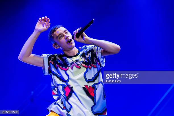 Olly Alexander of Years and Years performs live on Day 4 of FIB Festival on July 16 2017 in Benicassim Spain