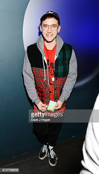 Olly Alexander of Years Years attends Britney Spears' performance at The Roundhouse on September 27 2016 in London England
