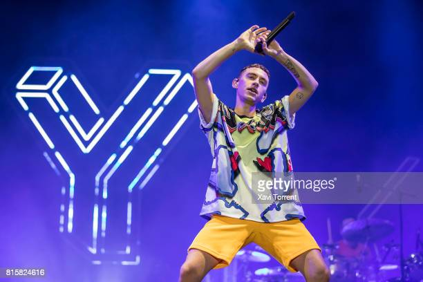 Olly Alexander of Years Years performs in concert during day 4 of Festival Internacional de Benicassim on July 16 2017 in Benicassim Spain