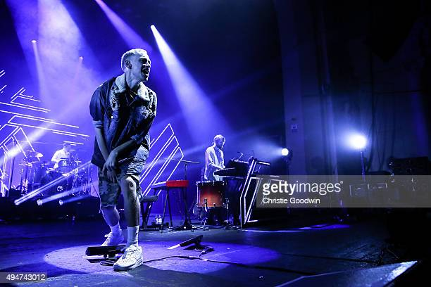 Olly Alexander of Years Years performs on stage at O2 Academy Brixton on October 28 2015 in London England