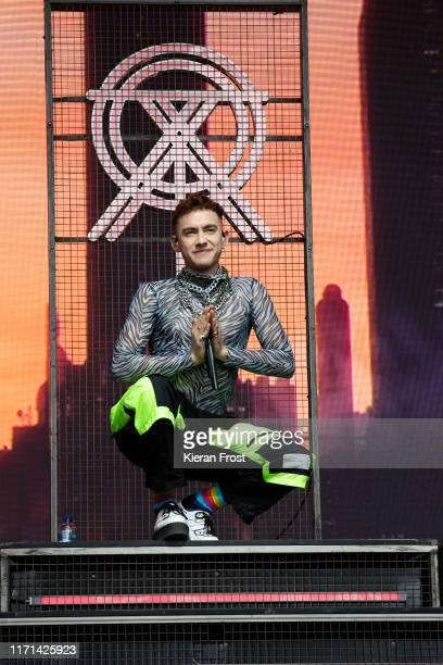 Olly Alexander of Years & Years performs on stage during Electric Picnic Music Festival 2019 at on August 31, 2019 in Stradbally, Ireland.