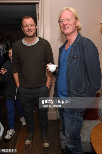 Olly Bengough and Chris BarŽzBrown attend the Idris Elba Purdey's campaign launch event at Soho House on May 13 2017 in London England