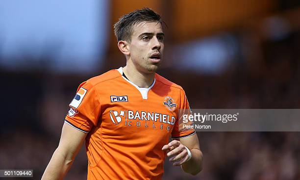 Olly Lee of Luton Town in action during the Sky Bet League Two match between Luton Town and Northampton Town at Kenilworth Road on December 12 2015...