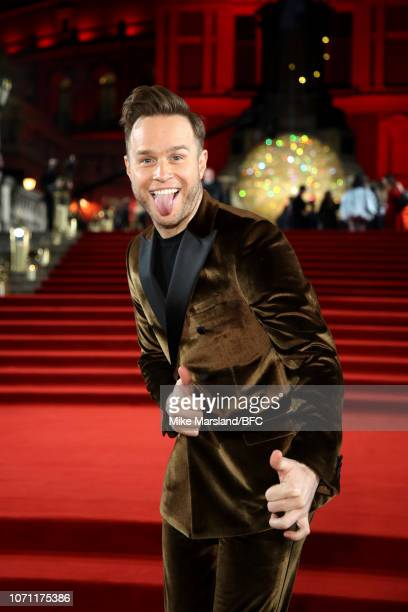 Olly Murs arrives at The Fashion Awards 2018 In Partnership With Swarovski at Royal Albert Hall on December 10 2018 in London England