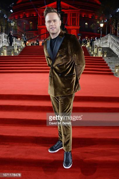 Olly Murs arrives at The Fashion Awards 2018 in partnership with Swarovski at the Royal Albert Hall on December 10 2018 in London England