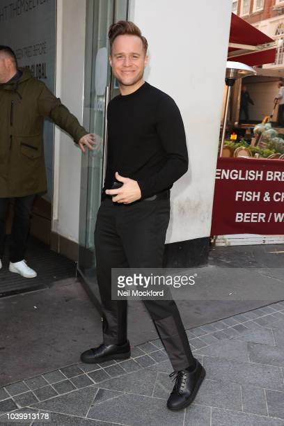 Olly Murs at Global Radio Studios on September 25 2018 in London England