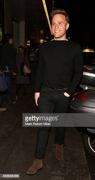 Olly Murs attending the Storm In A C Cup By Caroline Flack Book Launch Party on October 21 2015 in London England