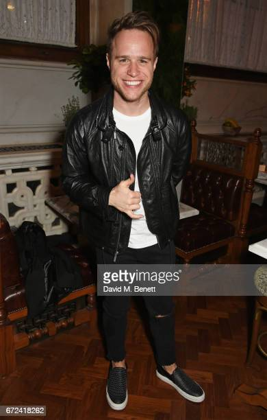 Olly Murs attends a preopening dinner hosted by Ed Drewett at Malibu Kitchen at The Ned London on April 24 2017 in London England