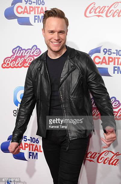 Olly Murs attends Capital's Jingle Bell Ball with CocaCola at the 02 Arena on December 3 2016 in London United Kingdom