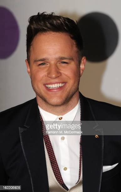 Olly Murs attends the Brit Awards 2013 at the 02 Arena on February 20 2013 in London England