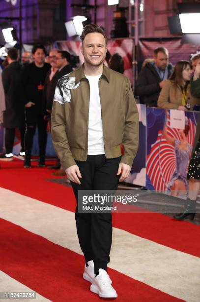 Olly Murs attends the 'Dumbo' European premiere at The Curzon Mayfair on March 21 2019 in London England
