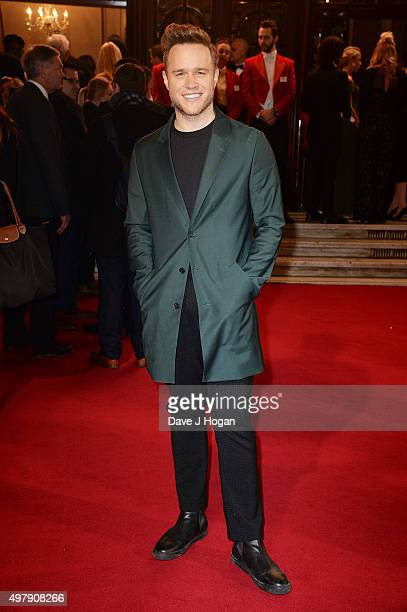 Olly Murs attends the ITV Gala at London Palladium on November 19 2015 in London England
