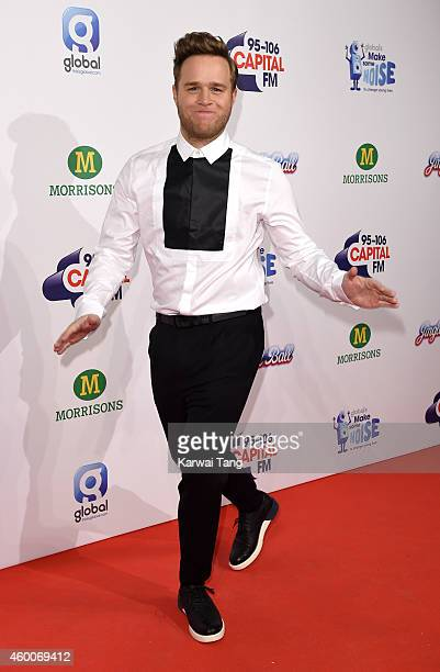 Olly Murs attends the Jingle Bell Ball at 02 Arena on December 6 2014 in London England