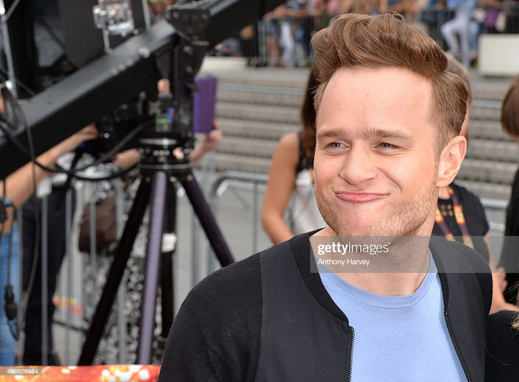 Olly Murs attends the London auditions of The X Factor at SSE Arena on July 16, 2015 in London, England.