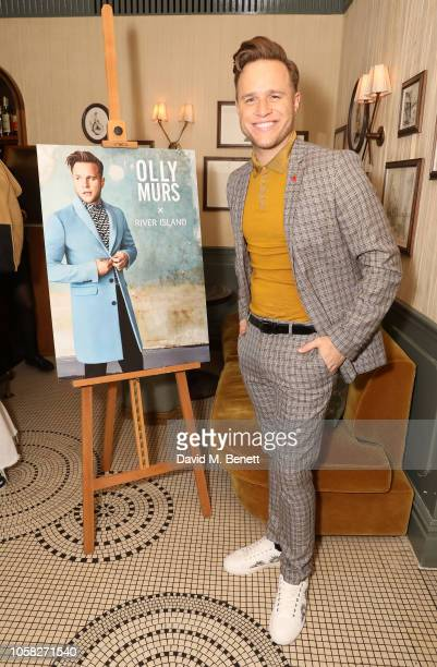 Olly Murs attends the Olly Murs x River Island collection launch dinner at Kettner's Townhouse on November 6 2018 in London England