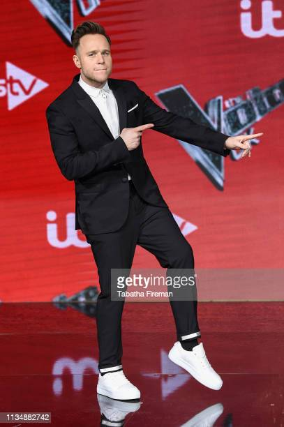 Olly Murs attends The Voice UK Final 2019 photocall at Elstree Studios on April 4 2019 in Borehamwood England