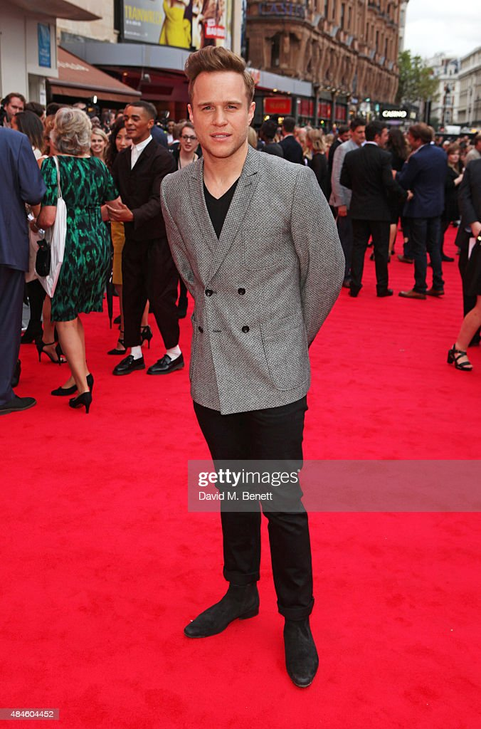 Olly Murs attends the World Premiere of 'The Bad Education Movie' at Vue West End on August 20, 2015 in London, England.