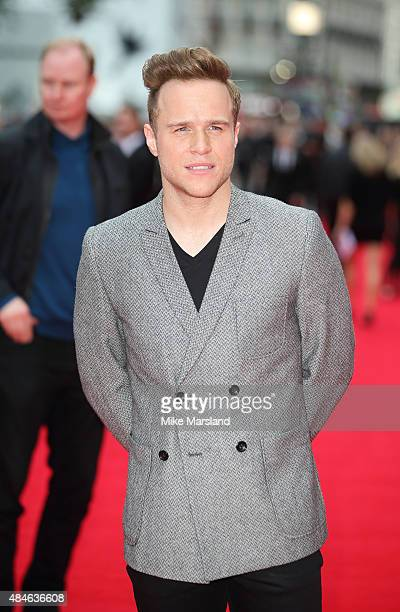 Olly Murs attends the World Premiere of The Bad Education Movie at Vue West End on August 20 2015 in London England