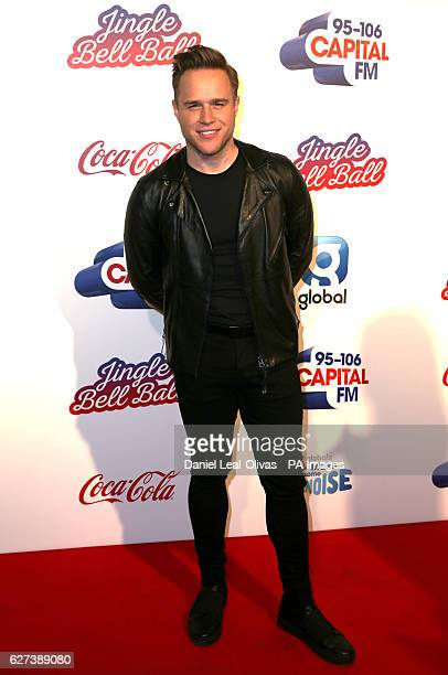 Olly Murs during Capital's Jingle Bell Ball with CocaCola at London's O2 arena